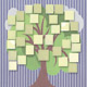 Bright Color Five-Generation Sample Scrapbook Family Trees